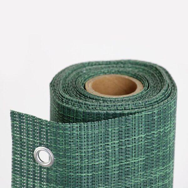 Dekoratīvs aizsargsiets 650 g/m2, 1x5m, zaļš