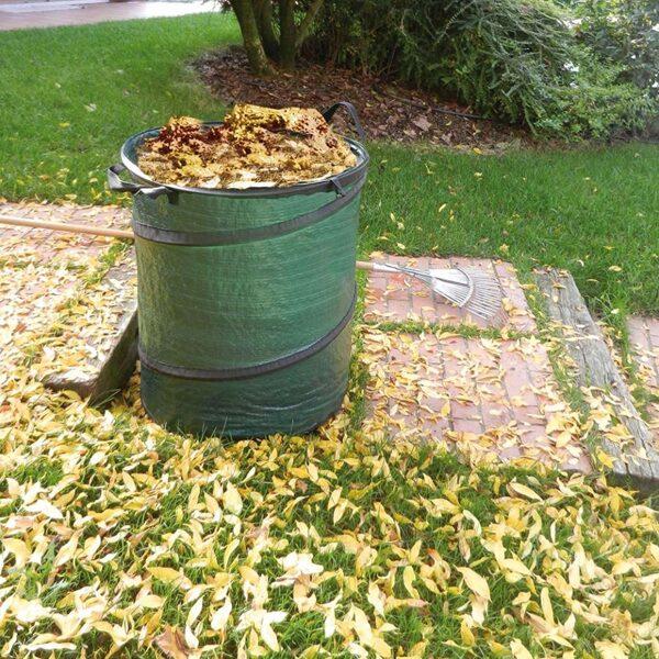 Dārza soma TENAX GARDEN BAG 115L, zaļa
