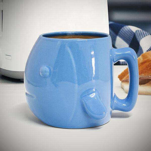 Krūžu komplekts Aquarium 500 ml zila keramika x2