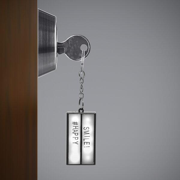 Atslēgu piekariņš Lightbox (raksti savu tekstu)