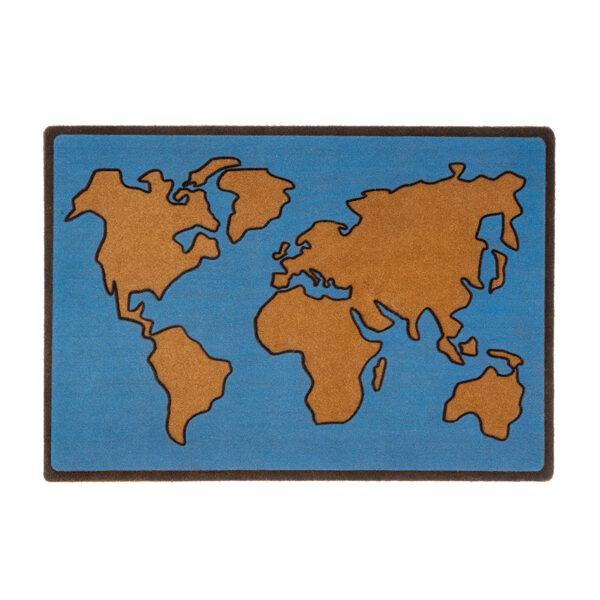 Kājslauķis pasaules karte