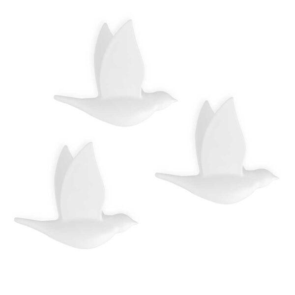 Sienas pakaramaie Birdie x6