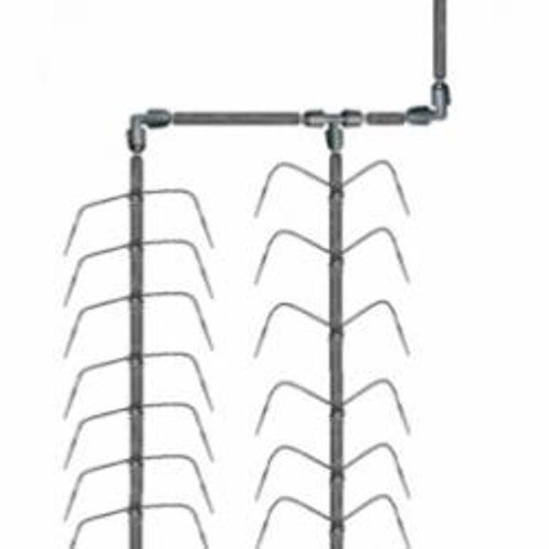 Laistīšanas sistēma KLASIKA SPIDER 4 (10 m2, 40 augiem)