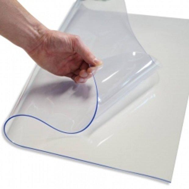 PVC tents caurspīdīgs 0,3 mm