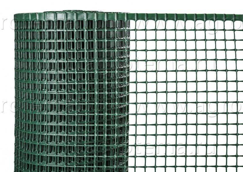Daudzfunkcionāls plastmasas aizsargsiets QUADRA 10, zaļš, 1x3m
