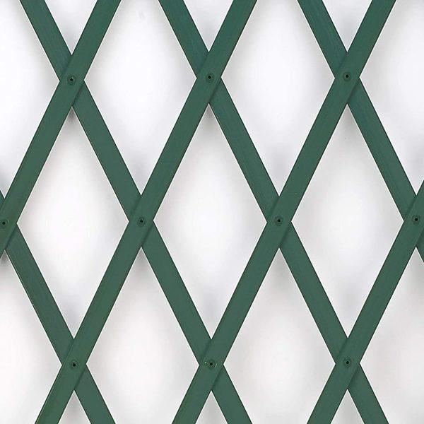 Dekoratīvs paplašināms plastmasas režģis TREPLAS 1,00 x 2 m