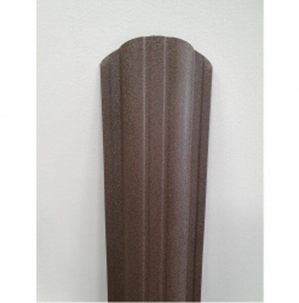 Profilēta metāla žoga štaketas BASIC PMx2 RAL8019 (Pelēki Brūna) 1500mm