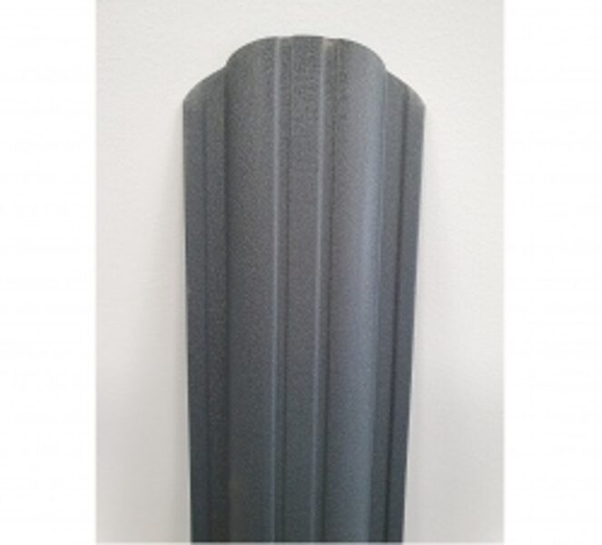 Profilēta metāla žoga štaketas POLO PMx2 RAL7016 (Antracīta pelēks)