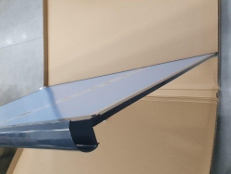 Jumtiņš STARKEDACH T-160, Taisns, tumši pelēks