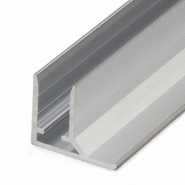 Alumīnija nobeiguma profils ALU-F polikarbonāta loksnēm 16mm