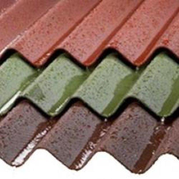 PVC Sinusveida profilētā loksne krāsota 1,1x900x2000 mm