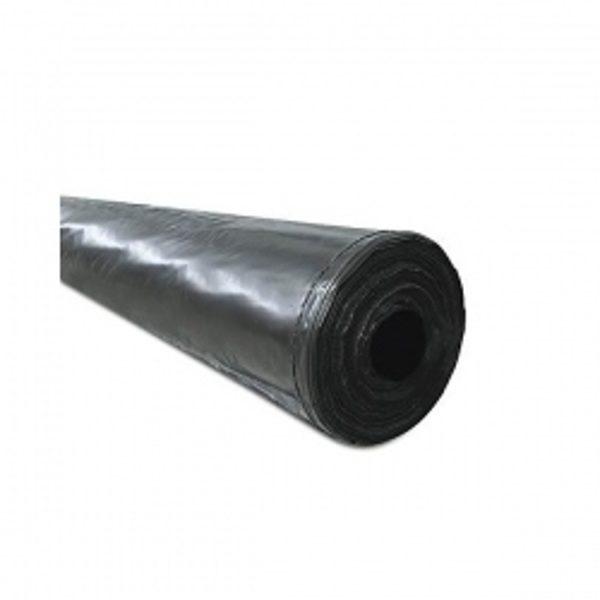 Polietilēna plēve melna 120mkr, 6x100m