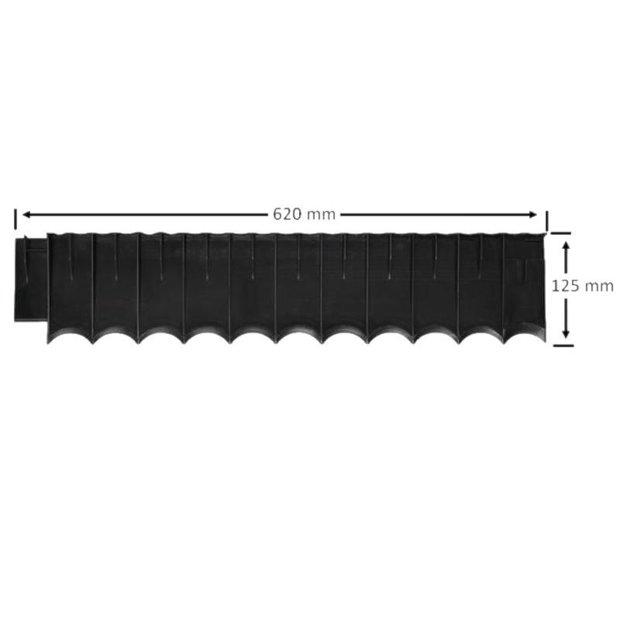 Plastmasas barjeras 62cm
