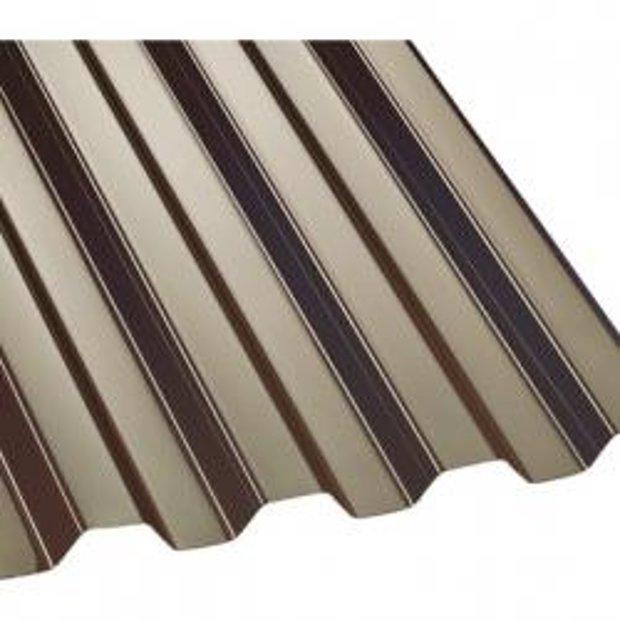 PVC Trapecveida profilētā loksne 2x0,90m