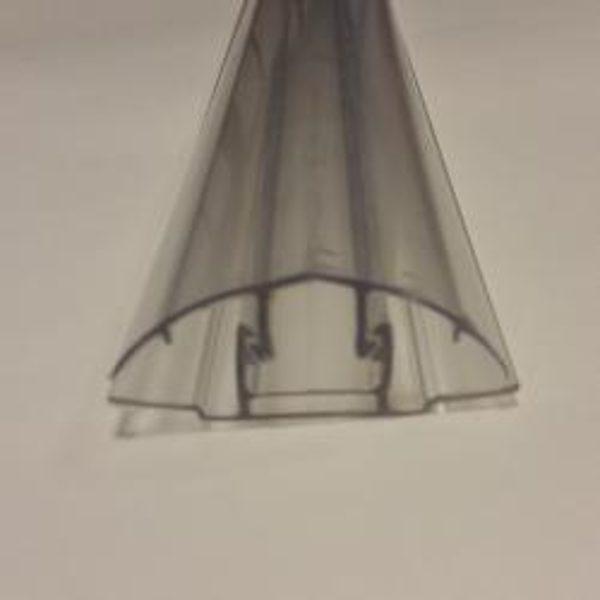 Universālais savienojuma profils PC-H 4-10mm polikarbonāta loksnēm